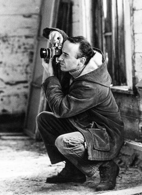 Lasse fotograferar
